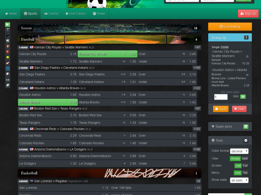 sports book software example