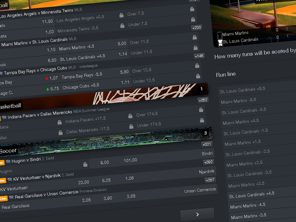 sports book software live betting