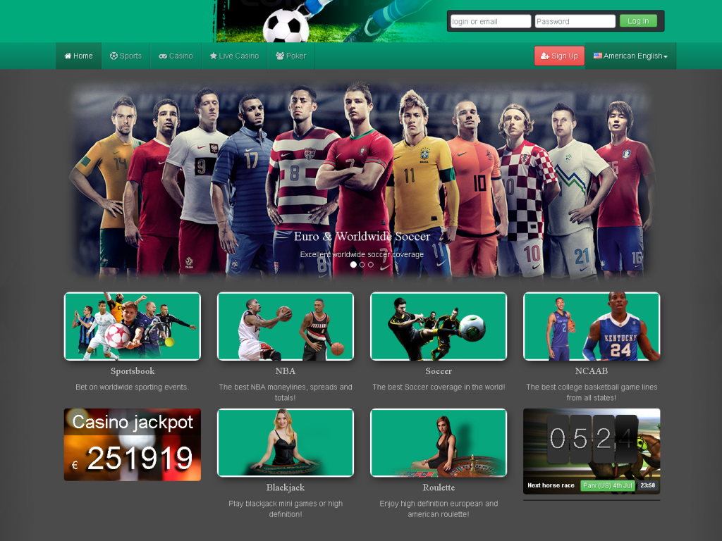 sports book software branding and design